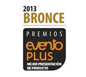Bronce 2013 Evento Plus - Mejor Presentación del Producto
