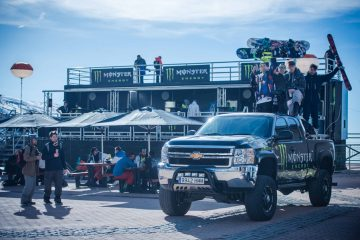 Activación Patrocinio Monster Energy en los campeonatos del mundo FIS de Freestyley Sonwboard. 2017